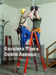 Escaleras de Tijera Doble Acceso - ESCALERAS CUPRUM