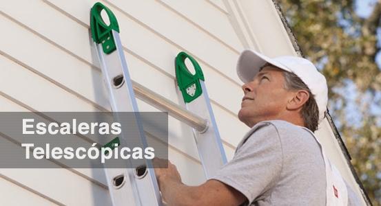 Escaleras Telescópicas ESCALERAS CUPRUM