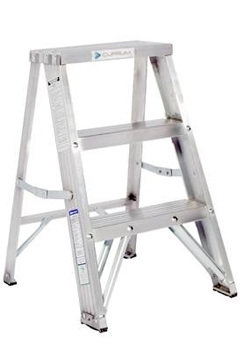 Escalera taburete de aluminio metros y 3 pelda os - Escalera dos peldanos ...