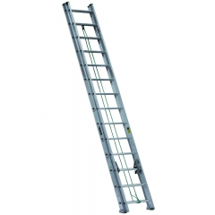 Escalera telescopica extensi n de aluminio metros y for Escaleras 15 metros
