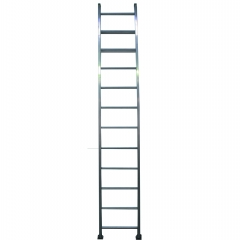 Escalera recta de aluminio m 12 p escaleras cuprum for Escaleras cuprum